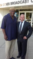 Hall of Fame Minnesota Vikings Carl Eller and CEO Pro Player Health Alliance David Gergen