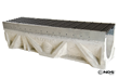 FILCOTEN by NDS fiber-reinforced, concrete trench drain for heavy commercial applications | www.ndspro.com