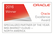 DAZ SYSTEMS Wins Prestigious Oracle Excellence Award for Specialized Partner of the Year – North America in Mid-Market Cloud Applications