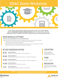 Array Architects Announces EDAC Study Sessions