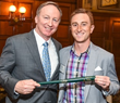 GEM Advertising Executive Wins Junior Achievement's Green Bat Award