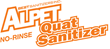 Use Alpet® No-Rinse Quat Sanitizer to aid in the cleaning of footwear prior to sanitization