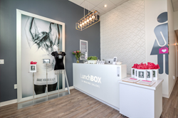 LunchBOX (A WAXING SALON) Reception and Check-in