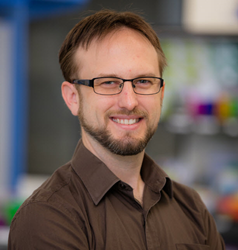 Dr. Brett Goldsmith, CTO of Nanomedical Diagnostics, a company launching graphene biosensor assays
