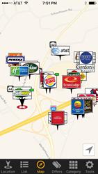 CherriPik app - Map tab