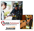 Mobile Solutions App integrated with the Janam XT1 rugged mini-tablet