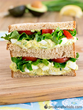 Produce for Kids' Avocado Egg Salad Sandwich. Recipe: http://www.produceforkids.com/meal-planning/avocado-egg-salad-sandwich