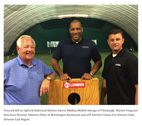 MyWay Mobile Storage of Pittsburgh is pleased to join with Cintas