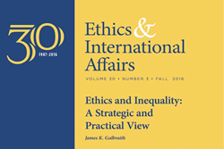 """Ethics & International Affairs"" Fall Issue 2016"