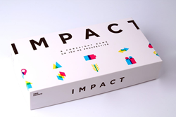 IMPACT: A Foresight Game invites participants to take on professions of the future and navigate change in order to achieve their character's preferred future state.