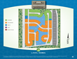 Site Plan Twin Lakes Estates new home community Central, LA