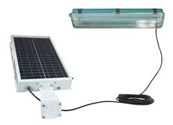 28 Watt Vapor Proof Solar Powered LED Light Fixture