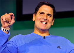 Mark Cuban, iconic entrepreneur, sits down to judge the Vator startup competition.