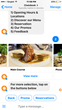 Restaurant Chatbot Food Category