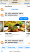 Restaurant Chatbot Menu