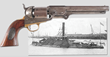 Leech & Rigdon Confederate Revolver, estimated at $60,000-80,000.