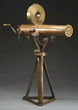 Colt Model 1883 US Navy Gatling Gun with original bronze tripod, estimated at $175,000-250,000.