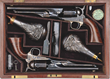 Double cased set of Colt 1860 Army and 1861 Navy Percussion revolvers, estimated at $175,000-275,000.