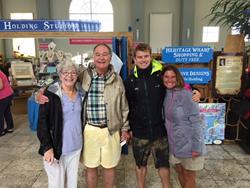 Jim McHutchison and Family