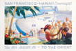 San Francisco - Hawaii Overnight via Pan American, PG Lawler, c. 1939