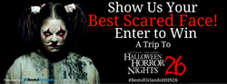 Universal Orlando's Halloween Horror Nights Contest