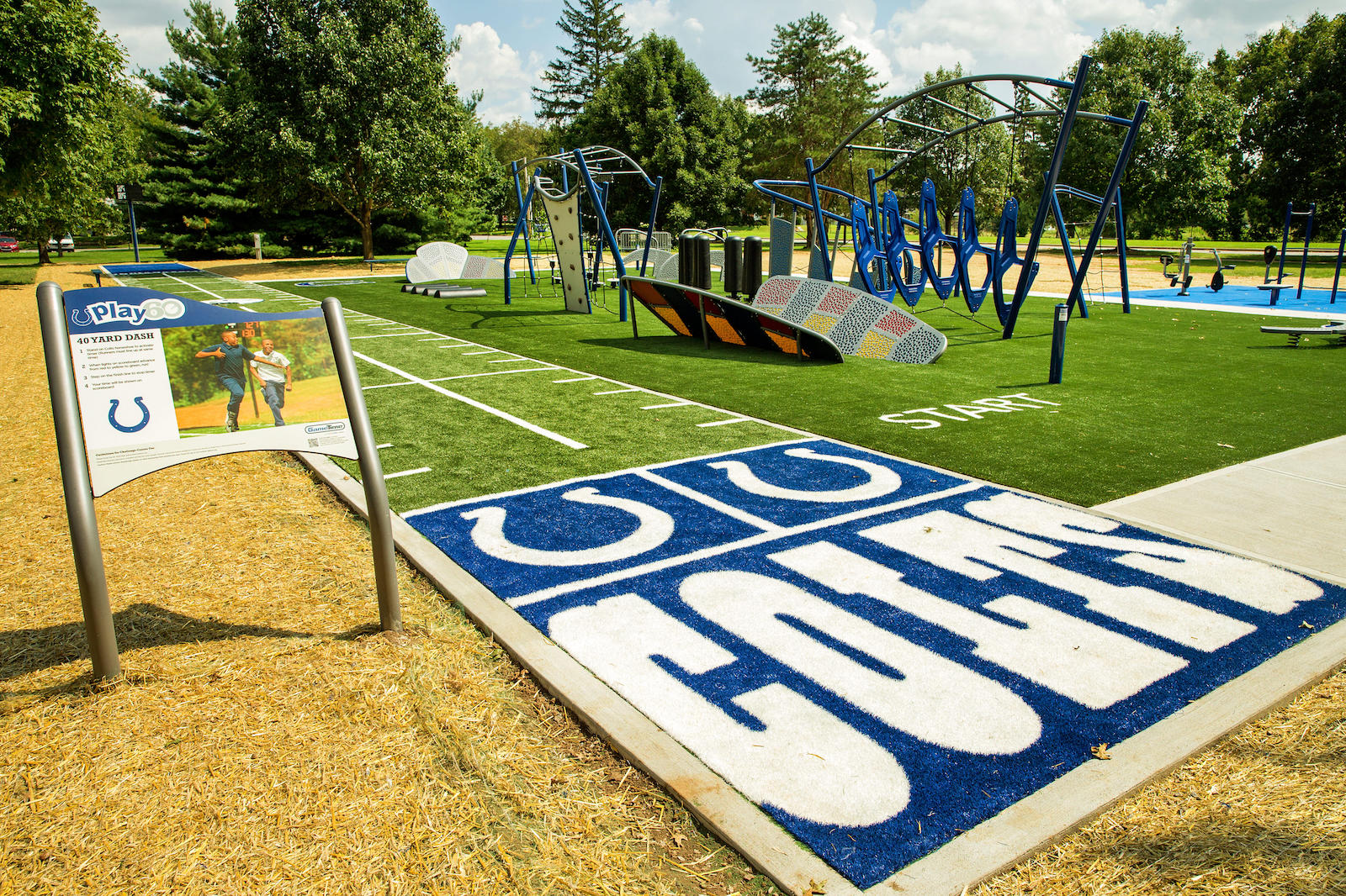 Indianapolis Celebrates First Gametime Challenge Course In