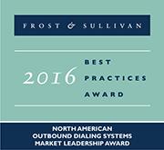 Frost & Sullivan 2016 Outbound Market Leadership Award
