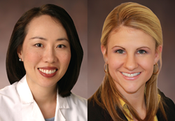 Drs. Cynthia Jun and Christine Luzuriaga