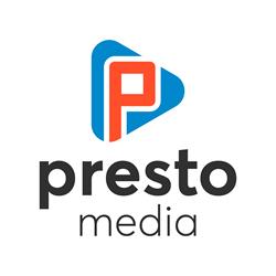 Presto Media Logo