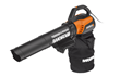 New WORX TURBINEFUSION Blower/Mulcher/Bagger Packs Punch in Fall Clean-up Chores