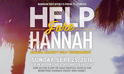 8th Annual Help Fore Hannah Charity Golf Tournament - Moore And Scarry Advertising