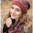 Annie's Autumn Bliss Fall/Winter 2016-17: Chinle Hat & Cowl Knit Pattern