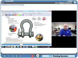 Online Rigging Training, Online Industrial Skills training, TPC Training Systems, TPC Online