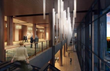 The tower lobby will be accented with stunning lighting and regionally inspired decor