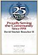 David S. Bouschor  Martindale-Hubbell 25 years Award