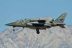 Top Aces Alpha Jet used for APS Jet Upset Training