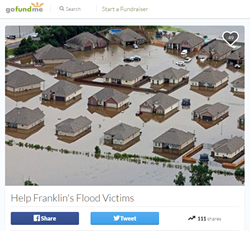 DocuCopies donates $1K to support flood victims in Louisiana.