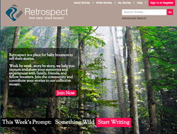New Retrospect Storytelling website