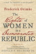 Donald F. Melhorn Jr. gives new take on Frederick Grimke's essay