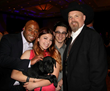 """Lone Survivor Foundation Featured Speaker 2015 J.R. Martinez with Proud New Owners of Hunters Creek Retrievers """"TEX"""""""