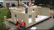 HOUSE CUBED structures can be assembled in 8 hours or less.