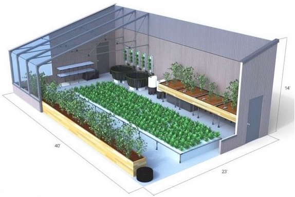 Aquaponics And Greenhouse Pioneers Partner To Deliver
