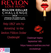 United Breast Cancer Foundation (UBCF) Joins Revlon LOVE IS ON 2016 Million Dollar Challenge