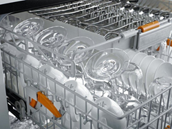 Having a dedicated dishwasher for delicate stemware can insure your Riedel wine glasses stay in pristine condition.