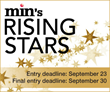 Entry Deadline for min's Rising Stars Awards: September 23