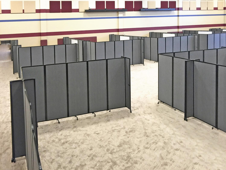 Versare Creates Temporary Classrooms For Displaced