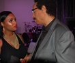 R&B Artist Aunyae Heart chats with Larry Dunn original founding member Earth Wind and Fire Band after her performance