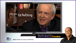 """Ed Pershing, co-founder and CEO of PYA (Pershing Yoakley & Associates), recently was featured in Hallerin Hilton Hill's award-winning """"Anything Is Possible,"""" an acclaimed fixture of East Tennessee television noted for the depth of insight it elicits from"""