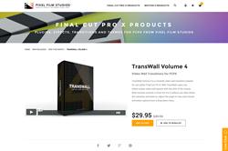 FCPX Plugin - TransWall Volume 4 - Pixel Film Studios