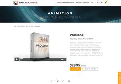 FCPX - ProClone - Pixel Film Studios Plugin